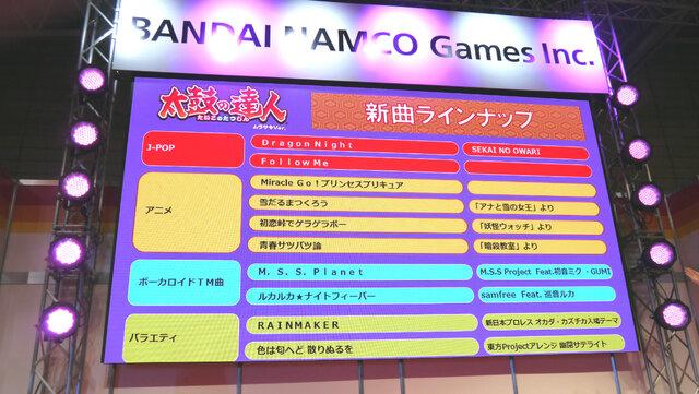 【JAEPO 2015】バンナムの新作音ゲー『シンクロニカ』稼動は6月に!小林幸子と『太鼓の達人』のコラボ情報も