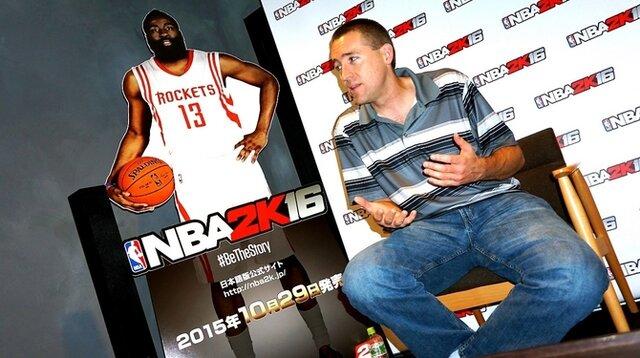 【インタビュー】映画監督が参加したストーリーモードも、今年も大きく進化した『NBA 2K16』