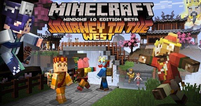 『マインクラフト』に西遊記スキン登場―Win10とPocket Editionにて提供開始