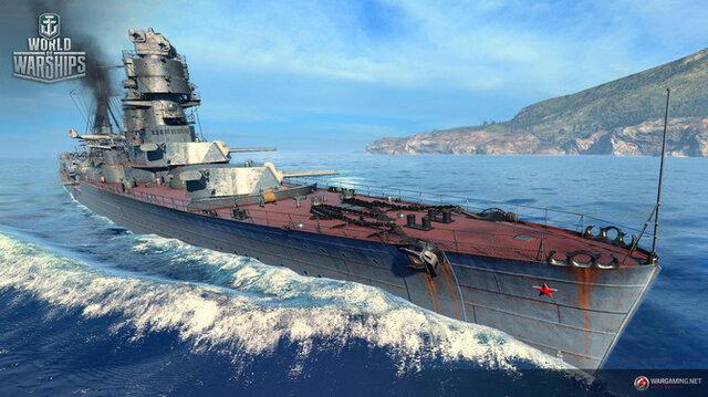 『World of Warships』ソ連巡洋艦ツリー実装!キーロフなど戦艦並の巨体を持つ