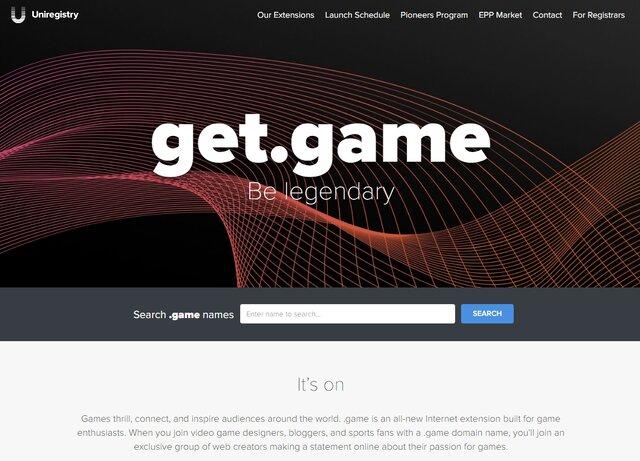 Wiiu Com Game : ドメイン「 game」登録受付開始、ゲームクリエイターやソフトウェア会社向けに インサイド